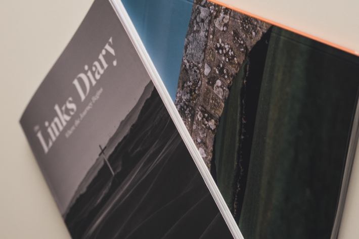 The Links Diary No. 1 and No. 2 in hard copy.