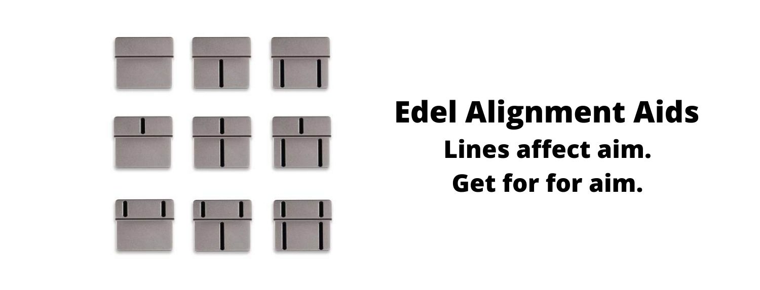 Putters Edel Alignment Aids